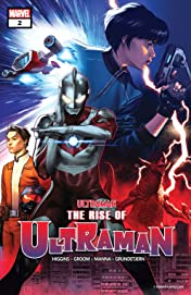 The Rise Of Ultraman (2020-) #2 (of 5)