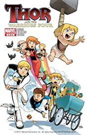 Thor and the Warriors Four #3 (of 4)
