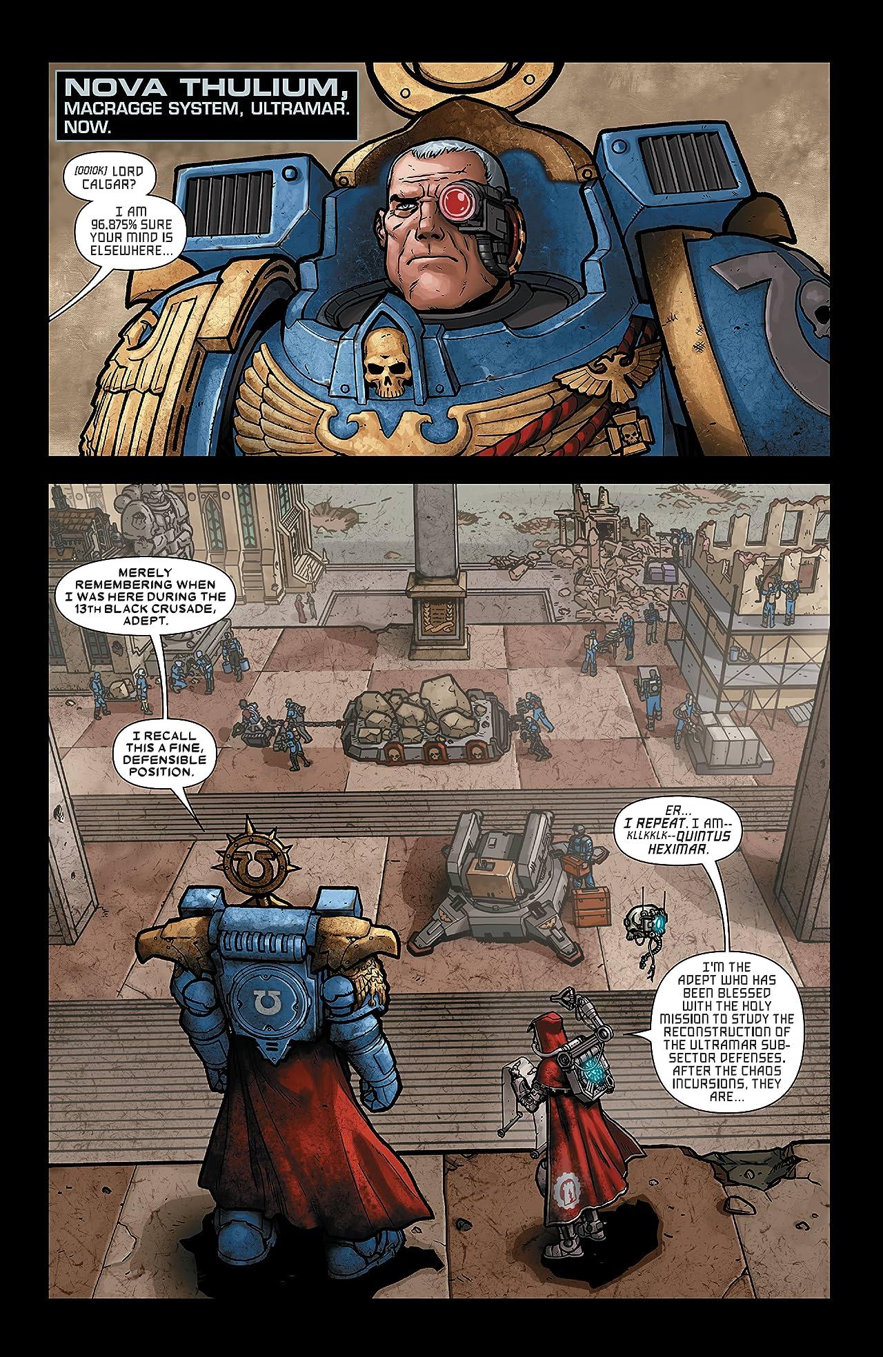 Warhammer 40,000: Marneus Calgar (2020-) #1 (of 5)