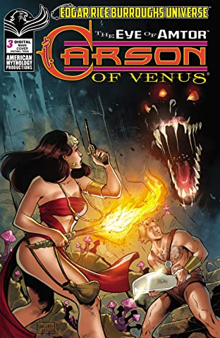 ERB Carson of Venus: Eye of Amtor No.3