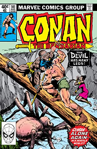 Conan The Barbarian (1970-1993) #101