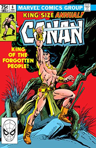 Conan The Barbarian (1970-1993) Annual #6
