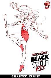 Harley Quinn Black + White + Red (2020-) #8