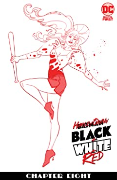 Harley Quinn Black + White + Red (2020-) #8