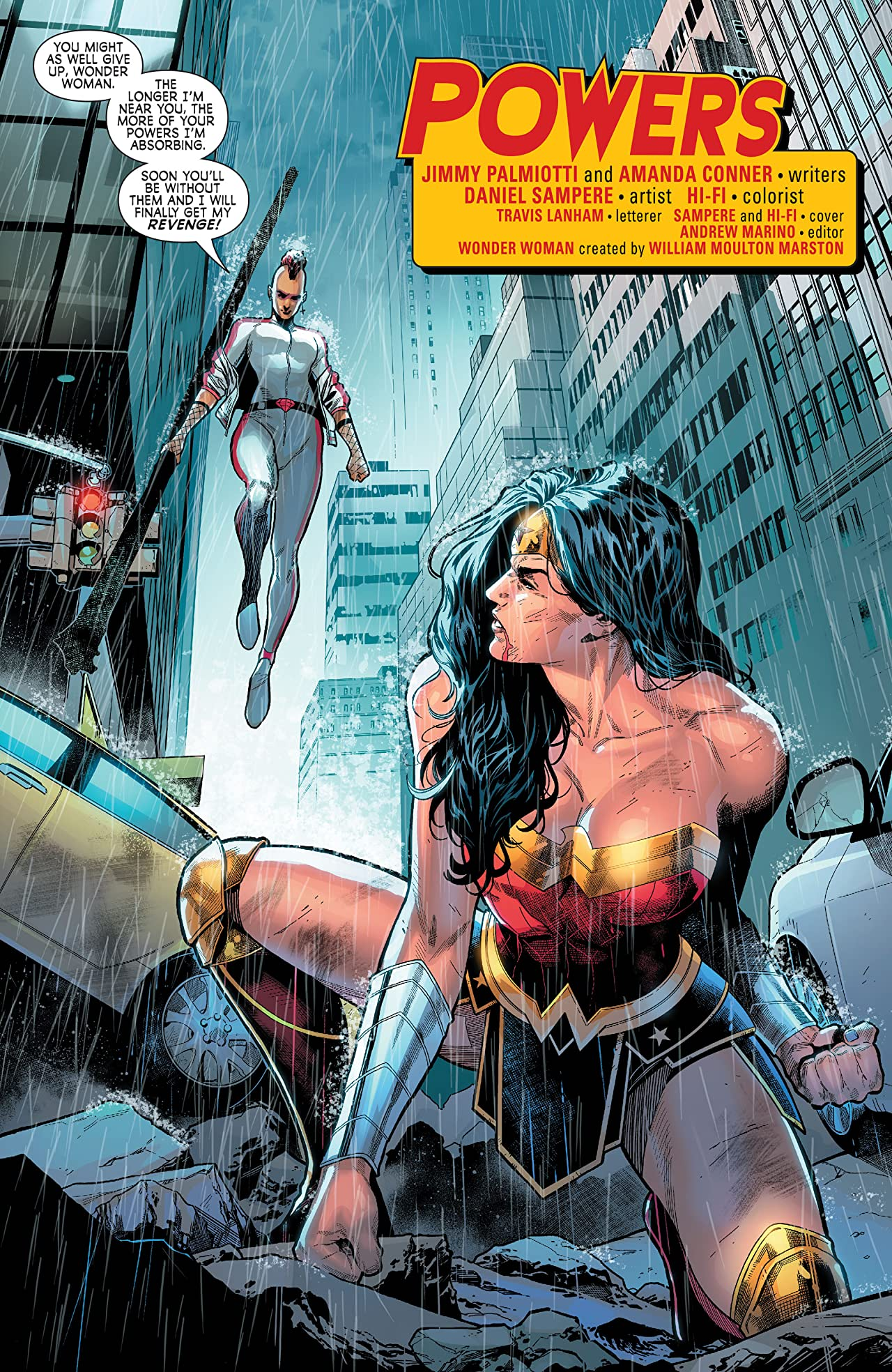 Wonder Woman: Agent of Peace #11