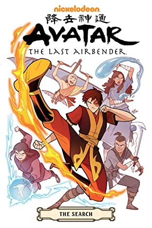 Avatar: The Last Airbender--The Search Omnibus