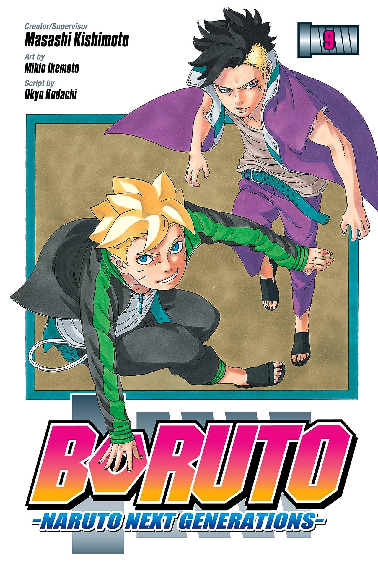 Boruto: Naruto Next Generations Tome 9: Up to You