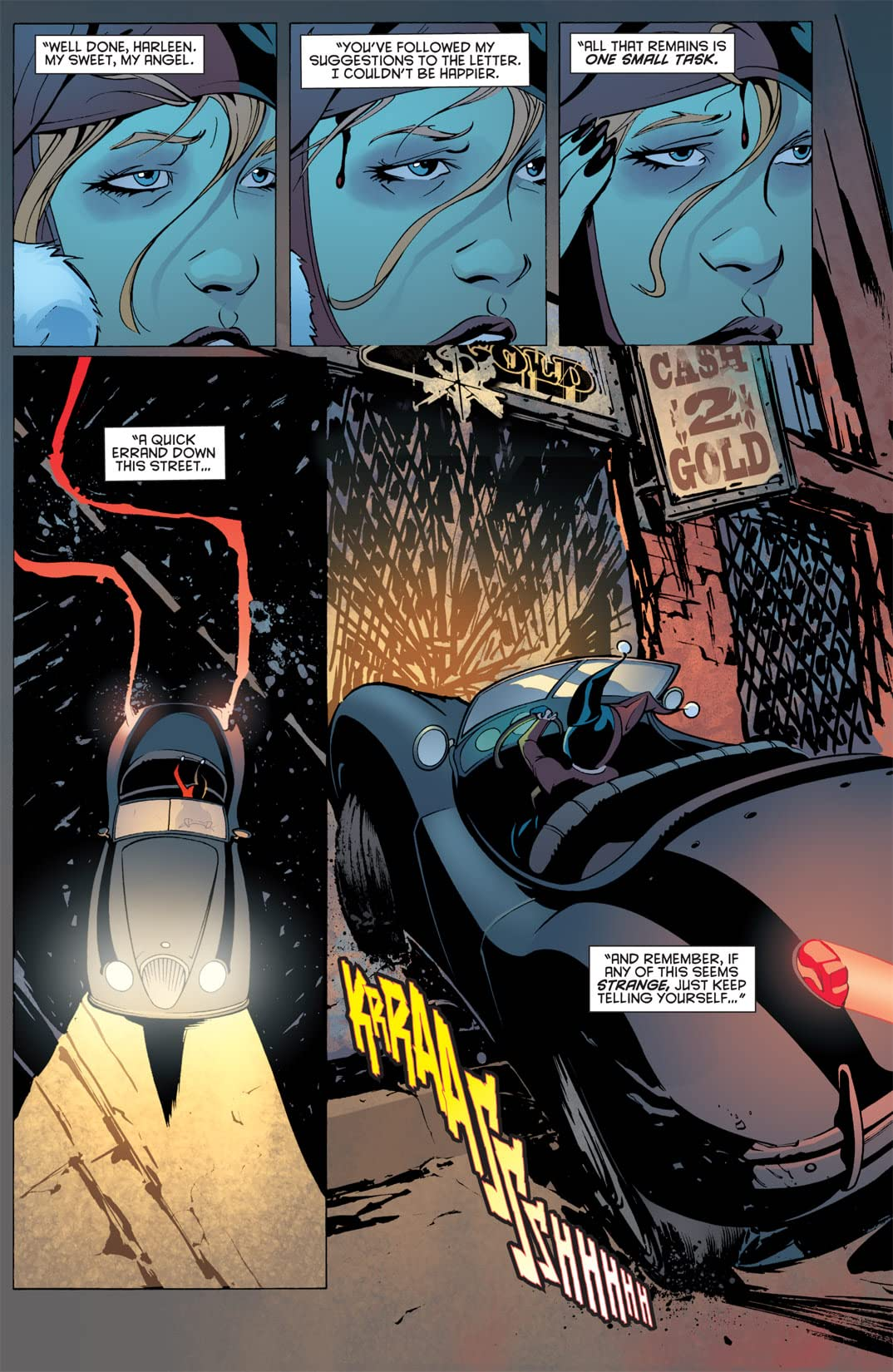 Batman: Streets of Gotham #17