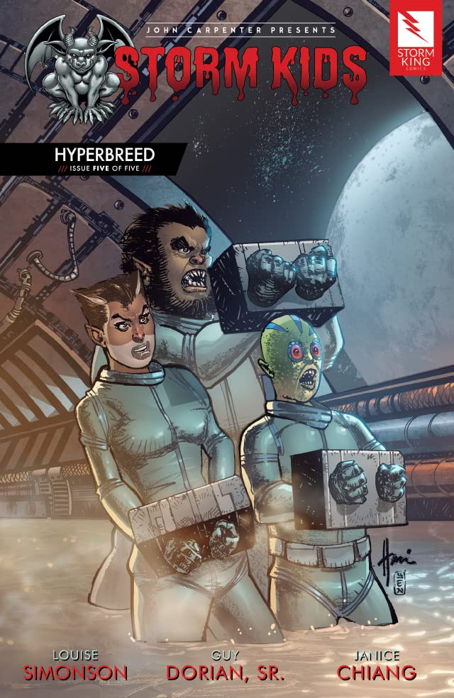 John Carpenter Presents Storm Kids: HYPERBREED #5