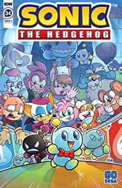 Sonic The Hedgehog (2018-) #34