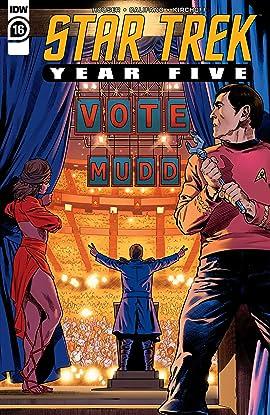 Star Trek: Year Five #16