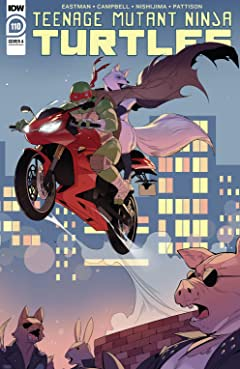 Teenage Mutant Ninja Turtles #110