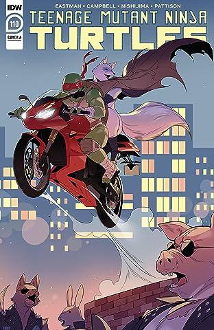Teenage Mutant Ninja Turtles #110