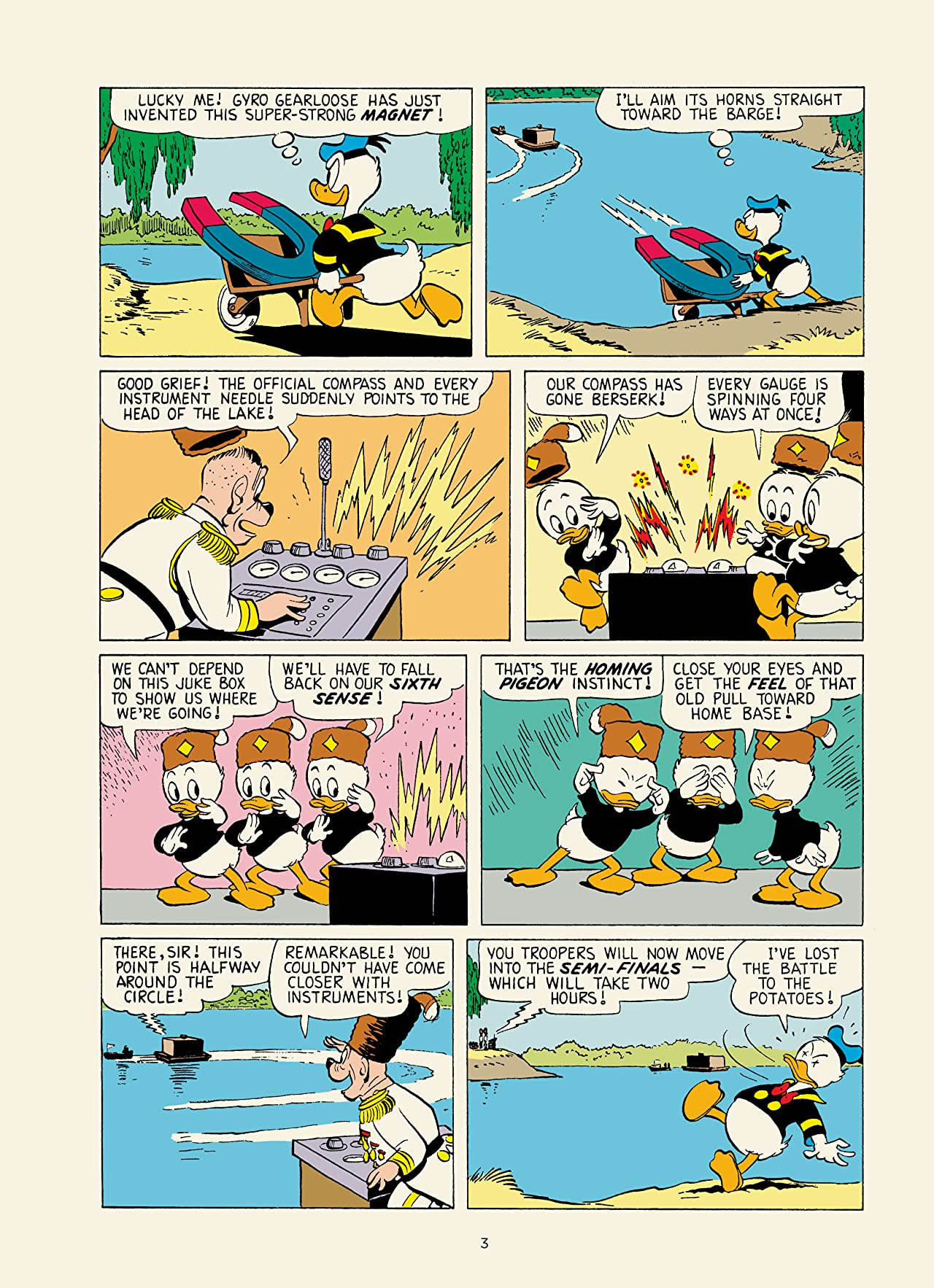 Walt Disney's Donald Duck Vol. 23: Under the Polar Ice