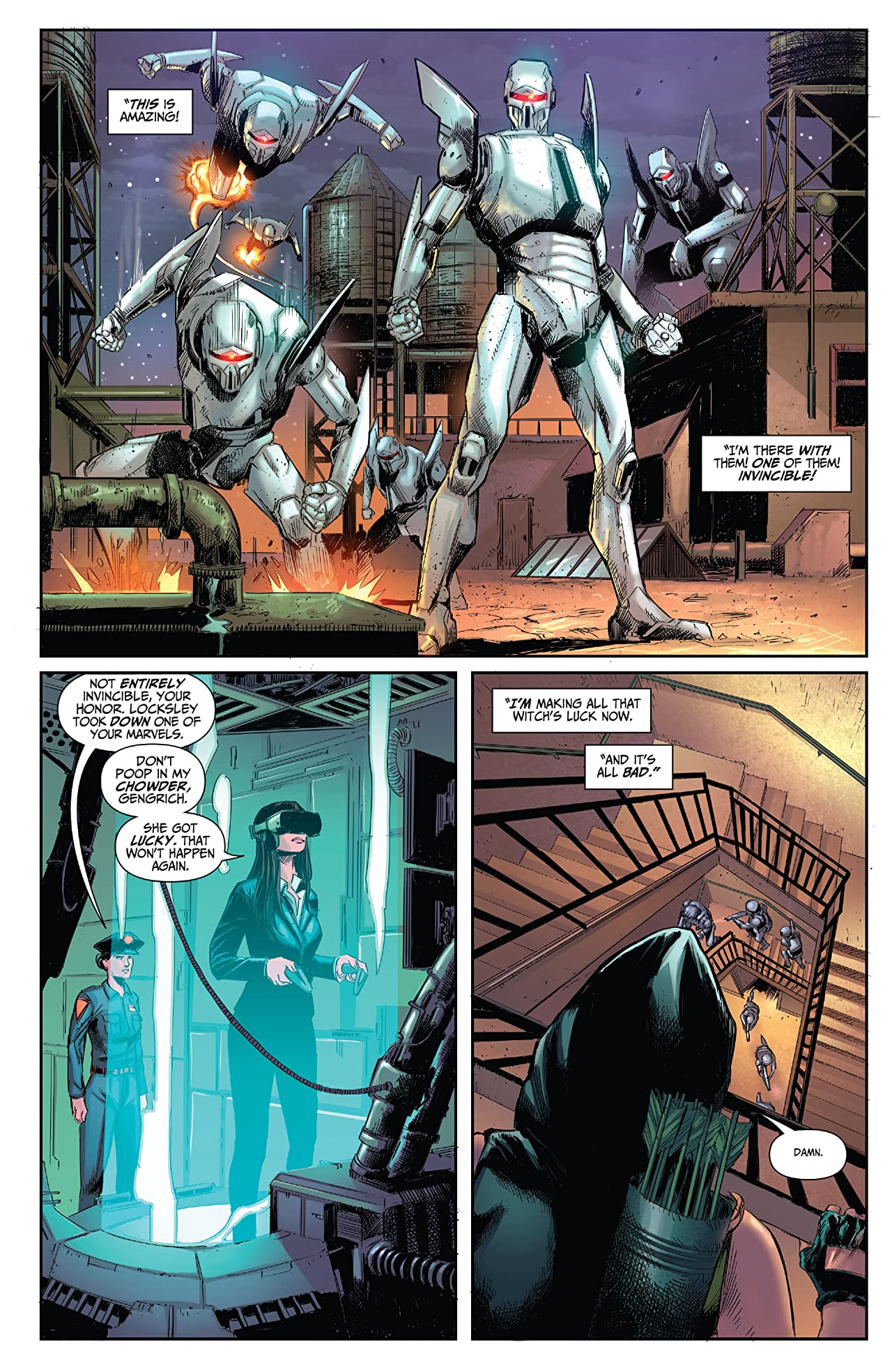 Robyn Hood #2: Justice