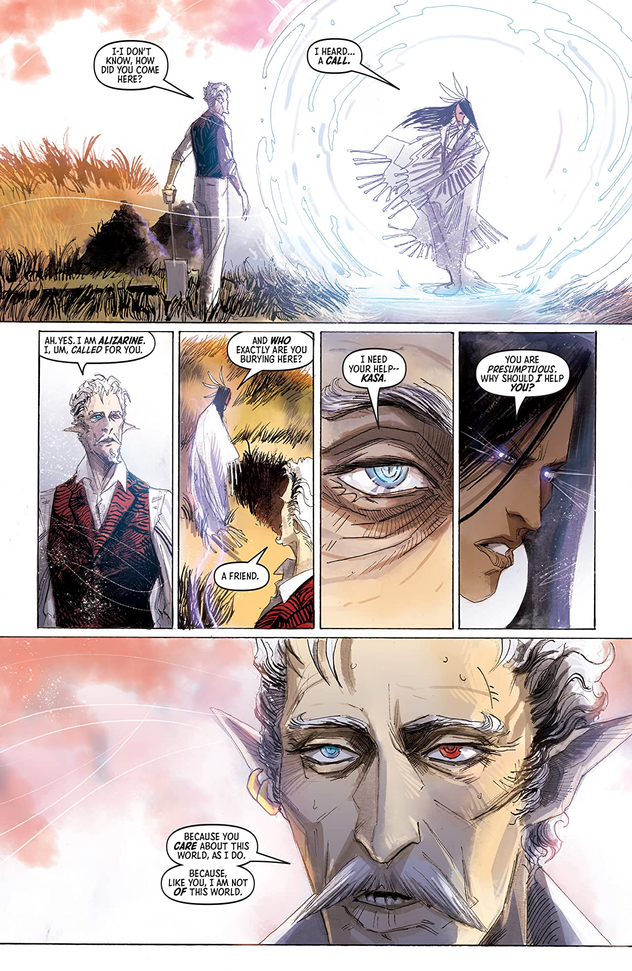 Ask For Mercy Season Three (comiXology Originals) #1 (of 6): World Of Disquiet