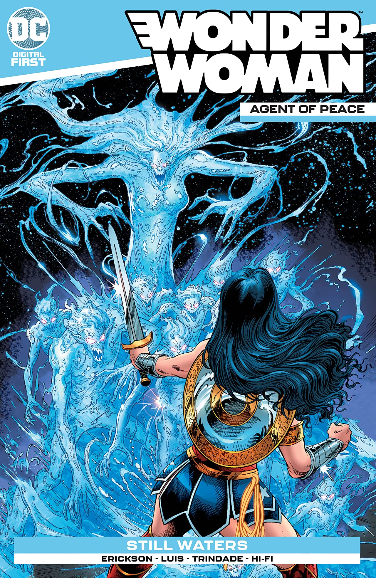 Wonder Woman: Agent of Peace #12