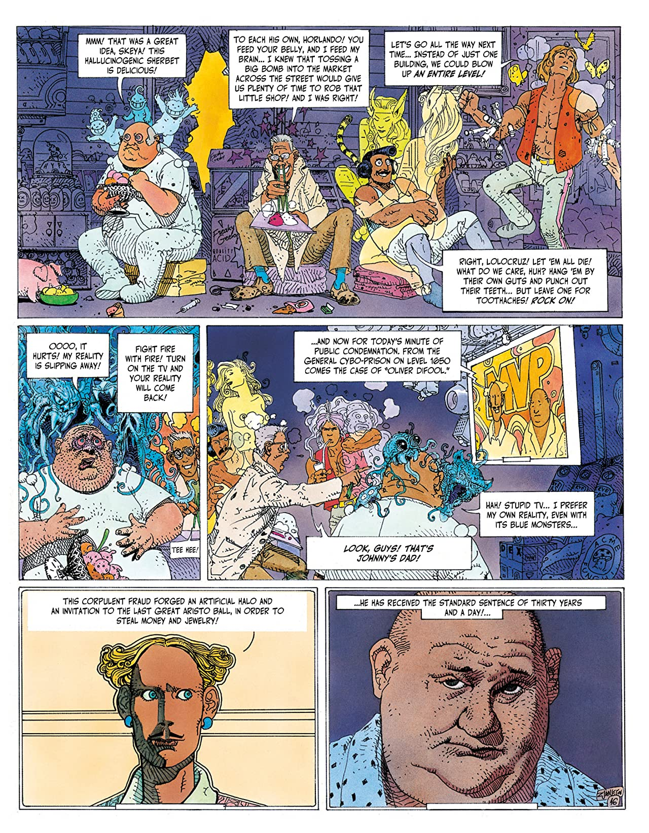 Before The Incal: Digital Omnibus