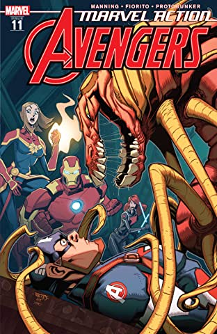 Marvel Action Avengers (2018-) No.11
