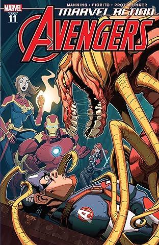 Marvel Action Avengers (2018-2020) #11