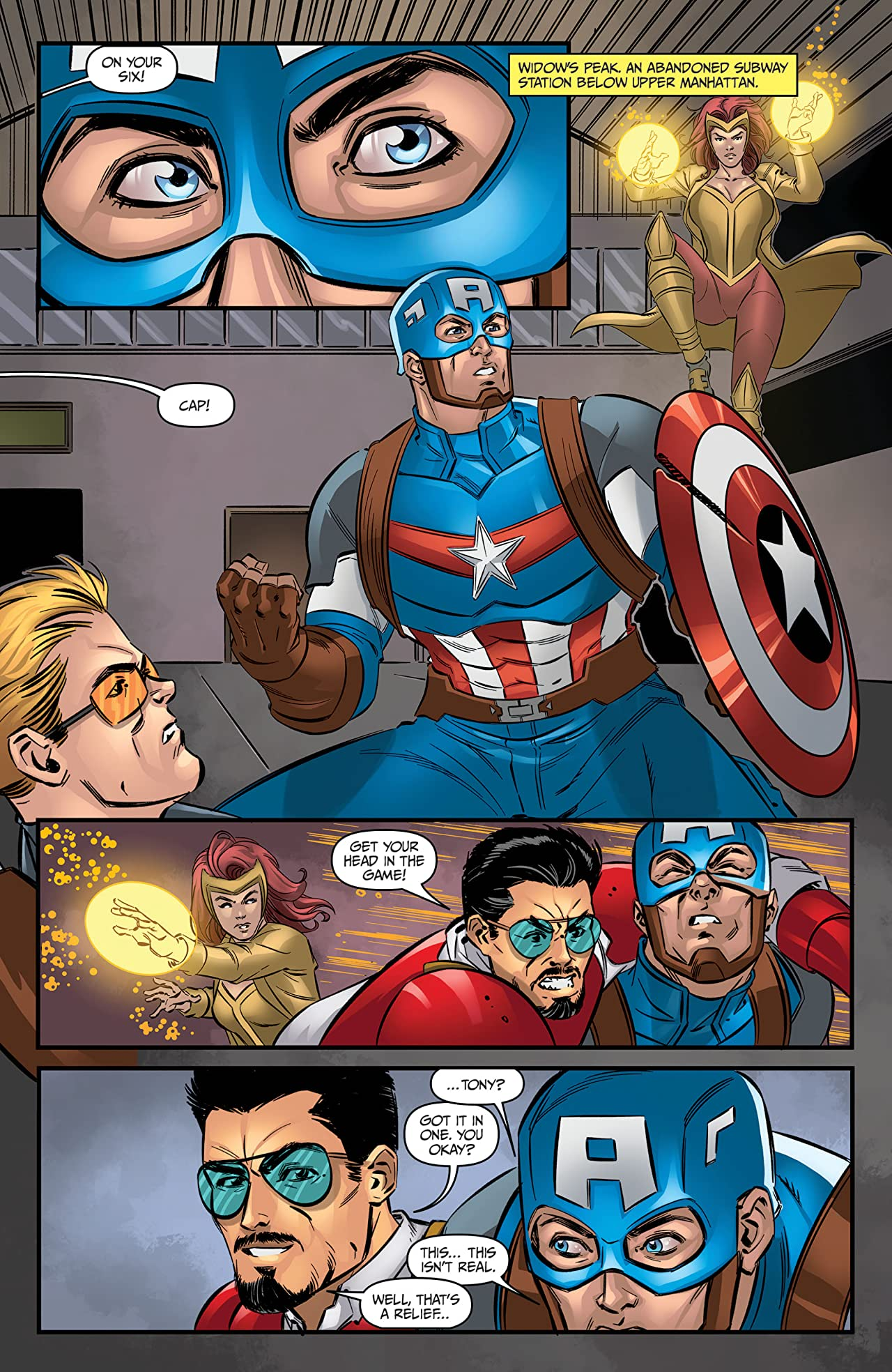 Marvel Action Avengers (2018-2020) #11