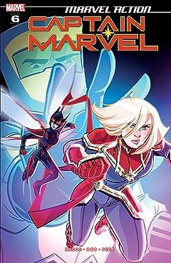 Marvel Action Captain Marvel (2019-2020) #6