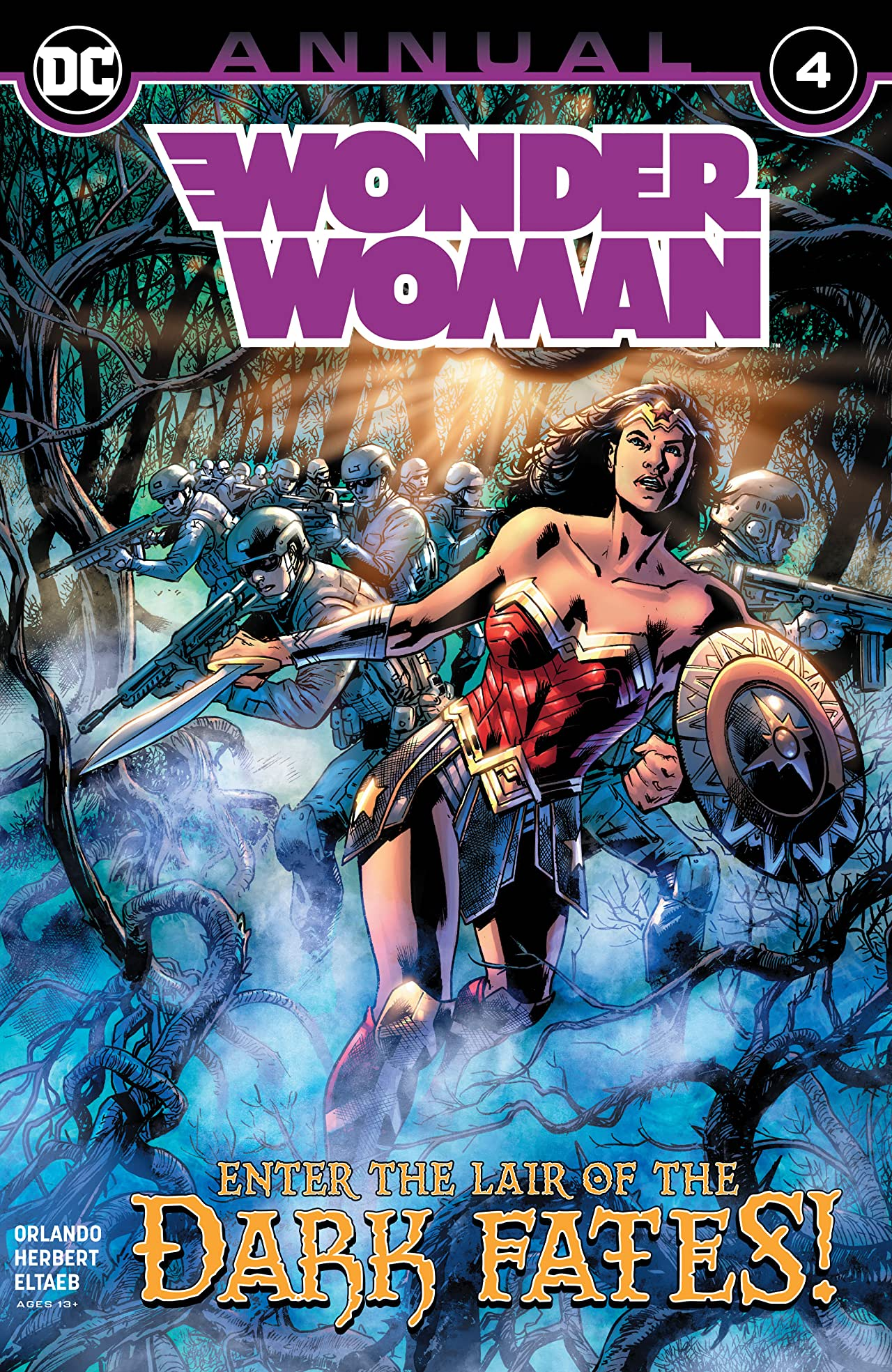 Wonder Woman (2016-) Annual #4