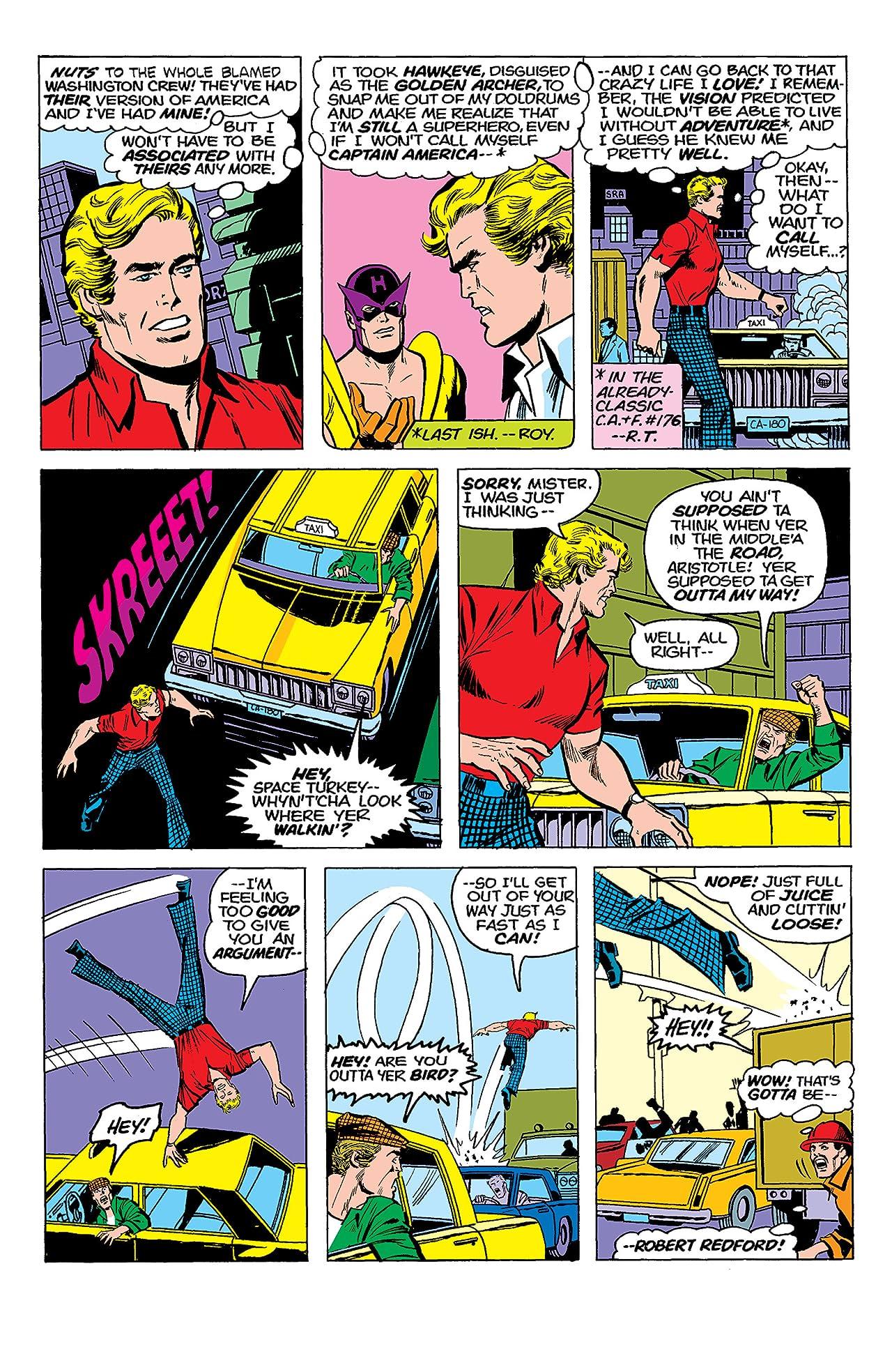 Captain America (1968-1996) #180