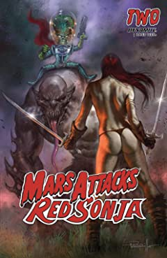 Mars Attacks Red Sonja #2