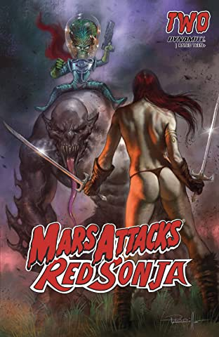 Mars Attacks Red Sonja #2