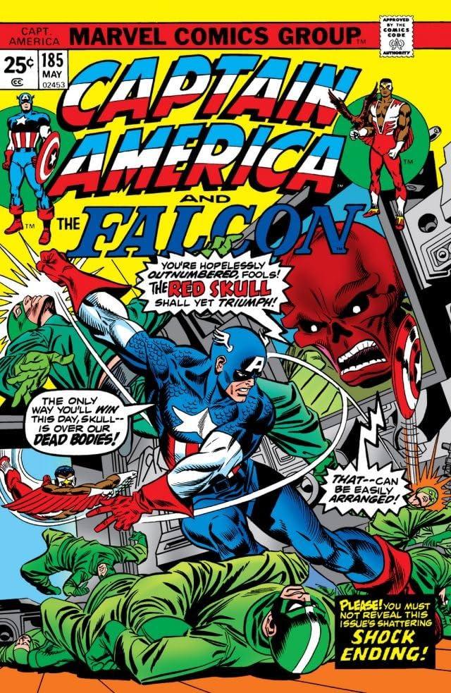 Captain America (1968-1996) #185