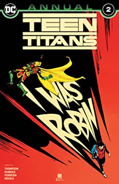 Teen Titans (2016-) Annual #2