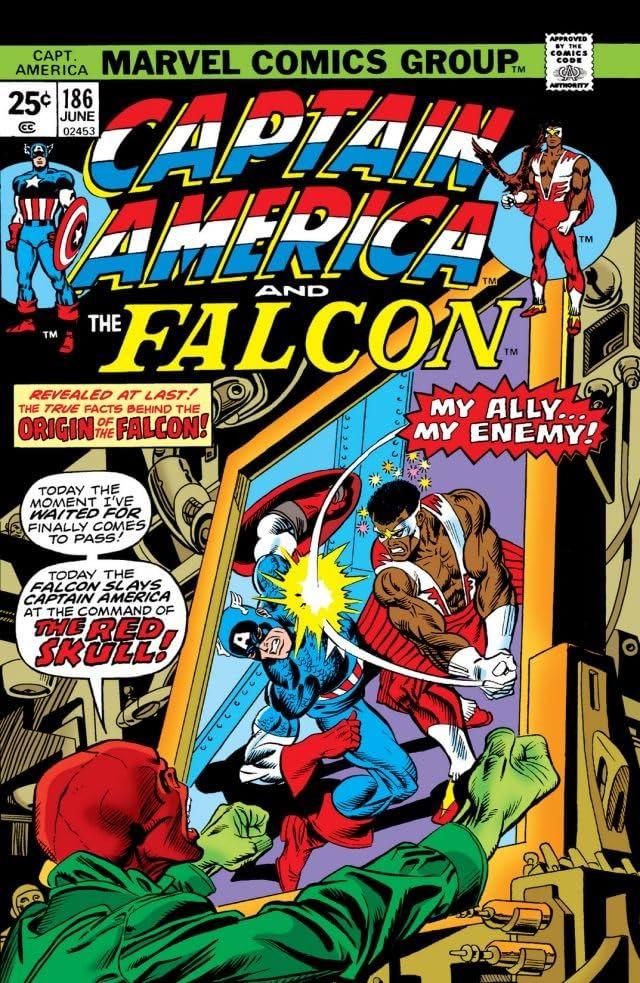 Captain America (1968-1996) #186