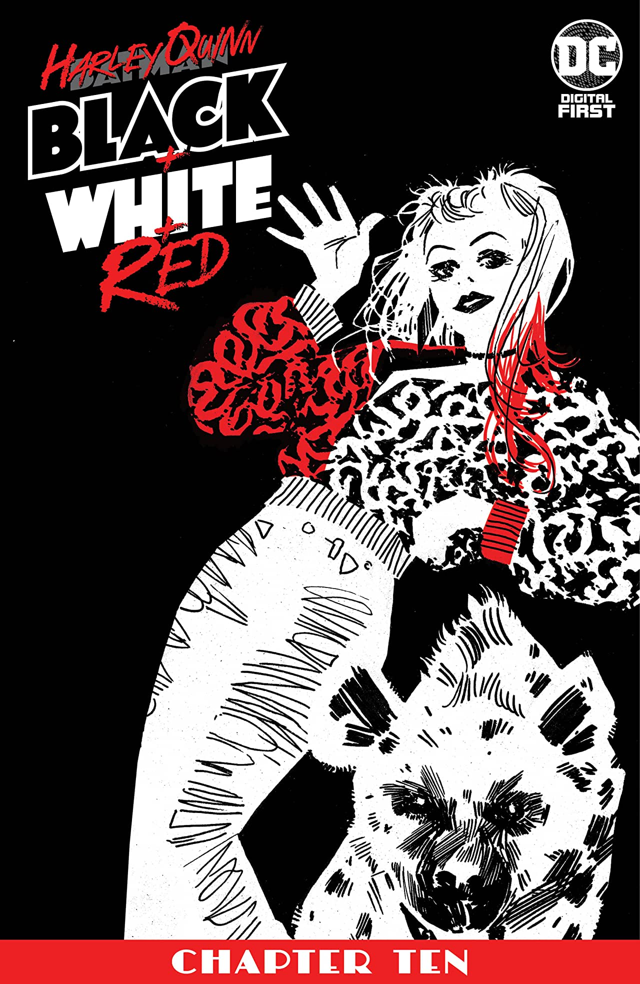 Harley Quinn Black + White + Red (2020-) #10
