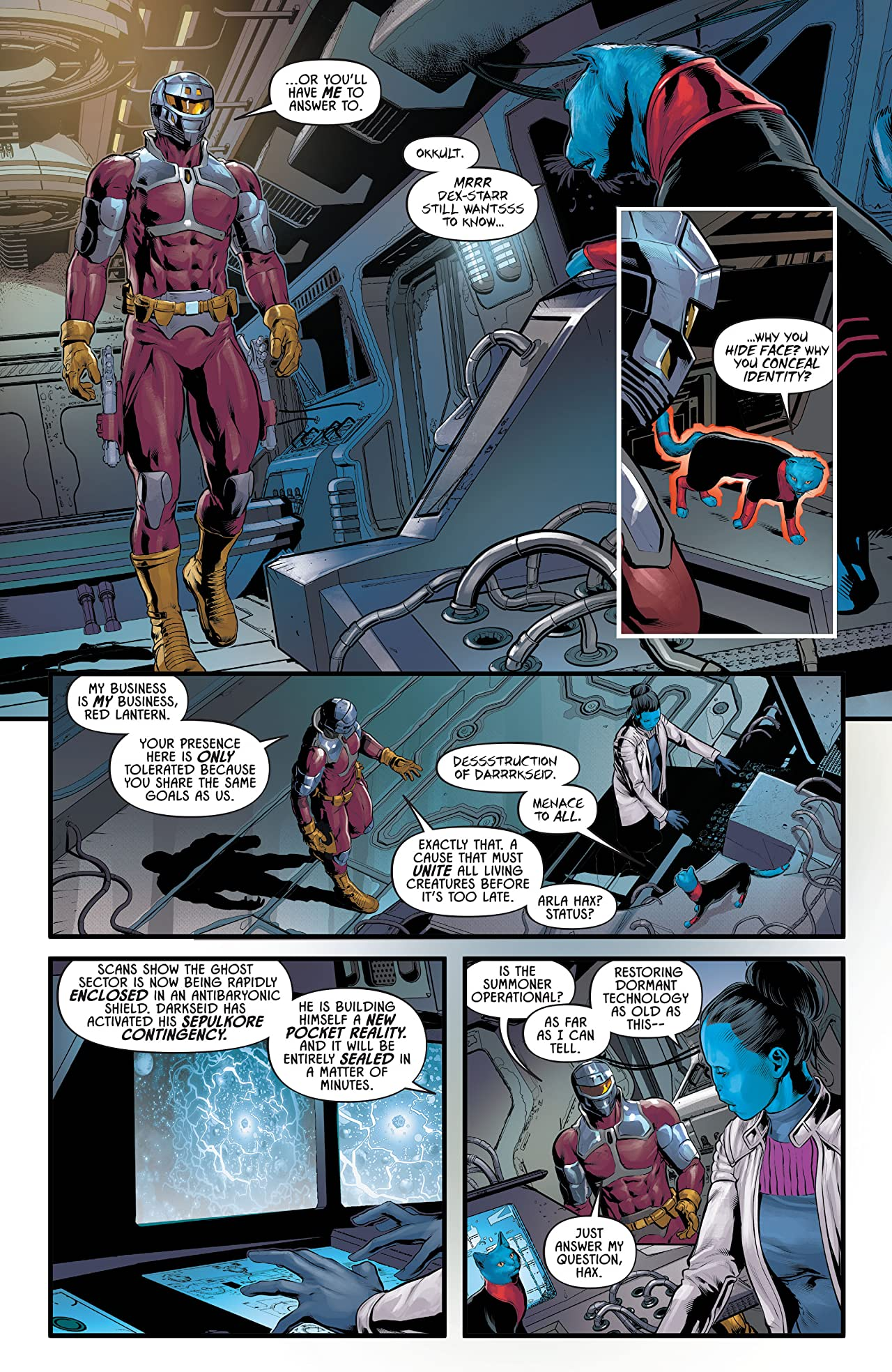 Justice League Odyssey (2018-) Vol. 3: The Final Frontier