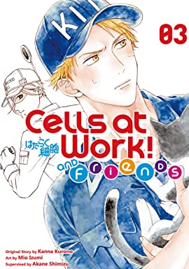 Cells at Work and Friends! Vol. 3