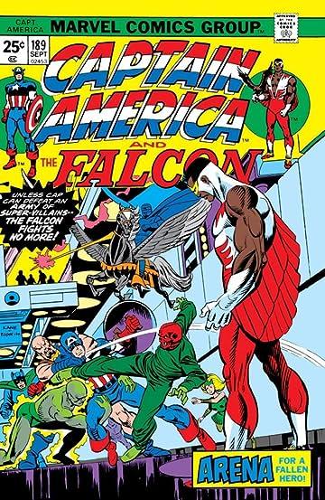 Captain America (1968-1996) #189
