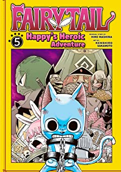 Fairy Tail: Happy's Heroic Adventure Vol. 5
