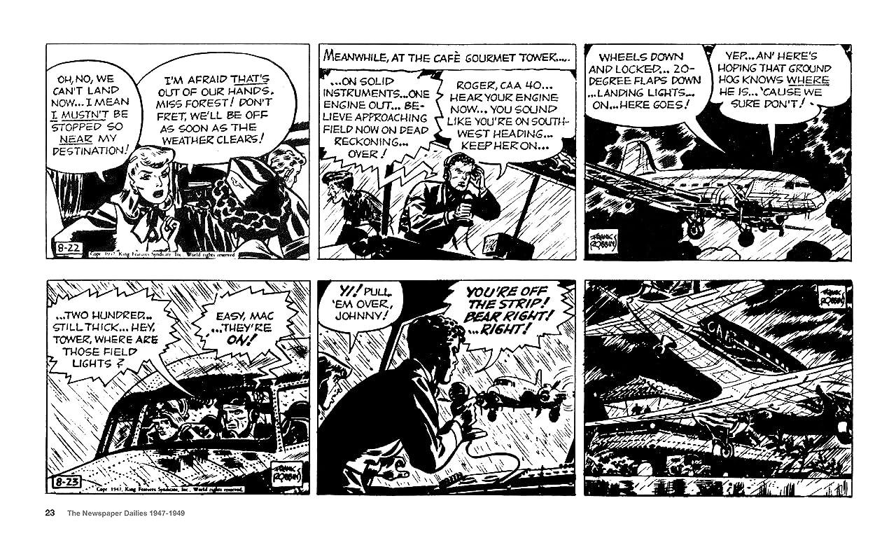 Johnny HazardThe Newspaper Dailies 1947-1949 Vol. 3