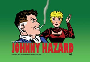 Johnny Hazard The Newspaper Dailies 1952-1954 Vol. 6