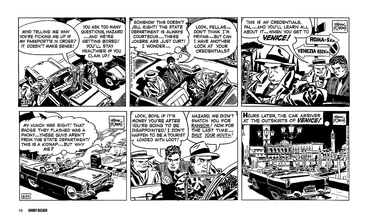 Johnny HazardThe Newspaper Dailies 1954-1956 Vol. 7
