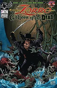 Zorro #1: Galleon Of the Dead