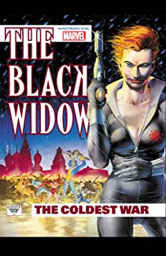 Marvel Graphic Novel #61: Black Widow: The Coldest War