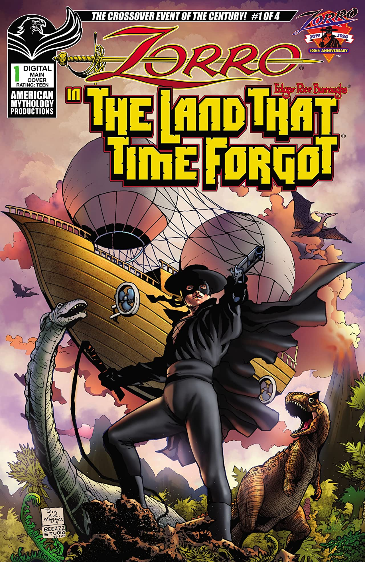 Zorro in the Land That Time Forgot No.1