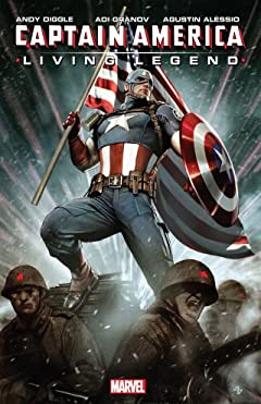 Captain America: Living Legend