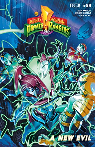 Mighty Morphin Power Rangers #54