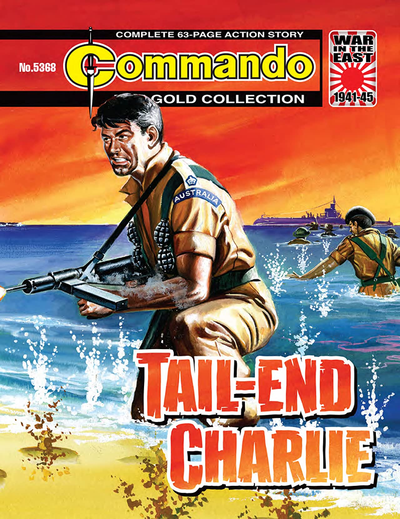 Commando #5368: Tail-End Charlie
