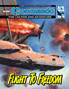 Commando #5369: Flight To Freedom