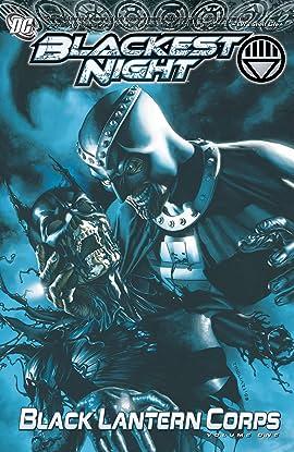 Blackest Night: Black Lantern Corps Tome 1