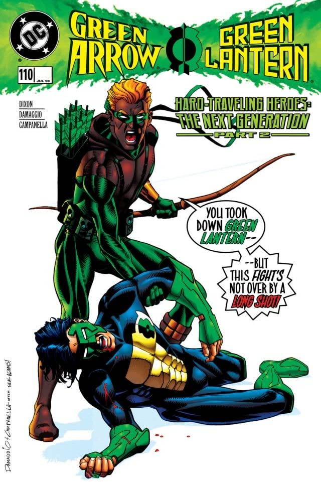 Green Arrow (1988-1998) #110